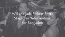 "Will and Jada Pinkett Smith Staged an ""Intervention"" for Son Jaden"