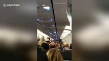 Shocking scene as American Airlines passenger tries smoking weed mid-flight causing emergency landing
