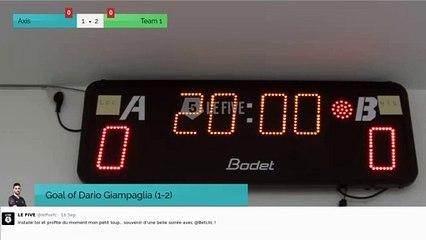 Goal of Dario Giampaglia (1-2)