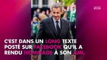 Jacques Chirac mort : le bouleversant hommage de Nicolas Sarkozy sur Facebook