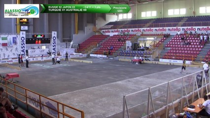 Q2, tir de précision U23, Mondial Jeunes U18 et U23, Alassio 2019