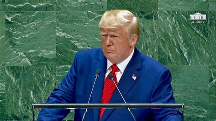 President Trump Speech at the United Nations 9:24:2019