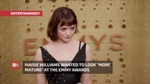 Maisie Williams And Her Emmy Fashion Choices