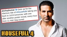 Akshay Kumar Releases MULTIPLE Looks Of Housefull 4