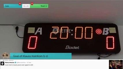 Goal of Klauss KoinKoin (1-1)