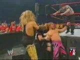 WWE - RAW 2003 - No DQ - HBK & Jeff Hardy vs Chris Jericho &
