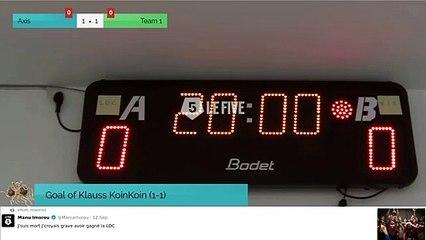 Axis Vs Team 1 - 24/09/19 14:16 - League el.io - Welcome