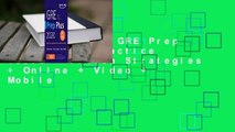 Full E-book  GRE Prep Plus 2020: Practice Tests + Proven Strategies + Online + Video + Mobile