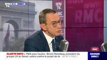 """Bruno Retailleau (LR) réagit aux propos de Jean-Luc Mélenchon qui a qualifié les policiers de """"barbares"""""""