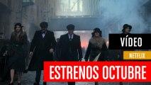 Los estrenos que verás en octubre en Netflix España