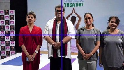 (FULL HD VIDEO) Subhash Ghai & WWI Celebrate World Yoga Day With Brahma Kumaris