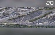 Nantes: Les images de la future place de la Petite-Hollande