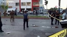 إصابة 5 أشخاص في انفجار قنبلة استهدفت حافلة شرطة جنوب تركيا