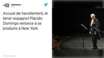 Accusé de harcèlement, Placido Domingo renonce à se produire au Metropolitan Opera de New York
