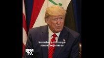 """Procédure de destitution: """"Tout le monde dit que c'est positif pour moi, pour l'élection"""", déclare Donald Trump"""