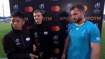 Felipe Berchesi wins Mastercard Player of the Match for Uruguay