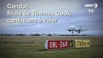 Thomas Cook: Condor ramenera 240.000 touristes grâce à un prêt
