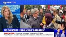 """Mélenchon et les policiers """"barbares"""" (4/4) - 25/09"""