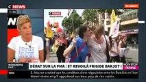 EXCLU - Regardez Frigide Barjot qui décide d'entrer dans le débat sur le projet de loi du gouvernement sur la PMA - VIDEO