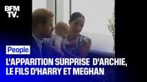 Les images de l'apparition surprise d'Archie, le fils d'Harry et Meghan