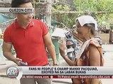 10,000 residente ng Quezon City at ilang pamilyang nasunugan sa Tondo, libreng makakanood ng May-Pac laban