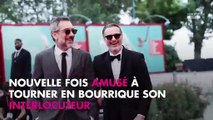 Quotidien - Joaquin Phoenix : Son interview décalée face à Yann Barthès