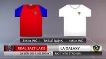 Match Preview: Real Salt Lake vs LA Galaxy on 26/09/2019