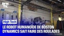 Atlas, le robot humanoïde de Boston Dynamics sait faire des roulades