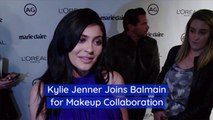 Kylie Jenner And Balmain Team Up