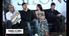Silong Presscon with Piolo Pascual and Rhian Ramos