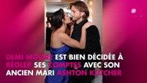 Ashton Kutcher accusé d'infidélité par Demi Moore, il réplique
