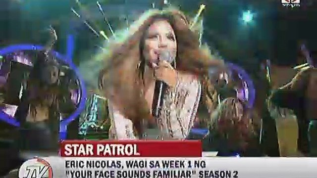 "Eric Nicolas, wagi sa week 1 ng """"Your Face Sounds Familiar"""" Season 2"