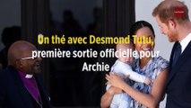 Un thé avec Desmond Tutu, première sortie officielle pour Archie