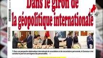 REVUE DE PRESSE CAMEROUNAISE DU 25 SEPTEMBRE 2019
