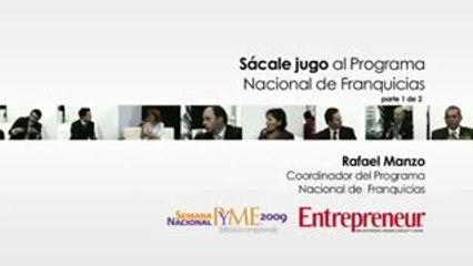 Programa Nacional de Franquicias. Semana PYME 2009 – 1