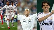 Brasileiros com mais jogos pelo Real Madrid