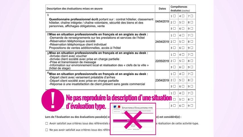 Titres professionnels   Guide utilisation du livret des évaluations passées en cours de formation (ECF)