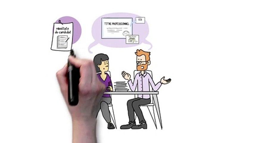 Titres professionnels   Qu'est-ce que les évaluations passées en cours de formation (ECF)