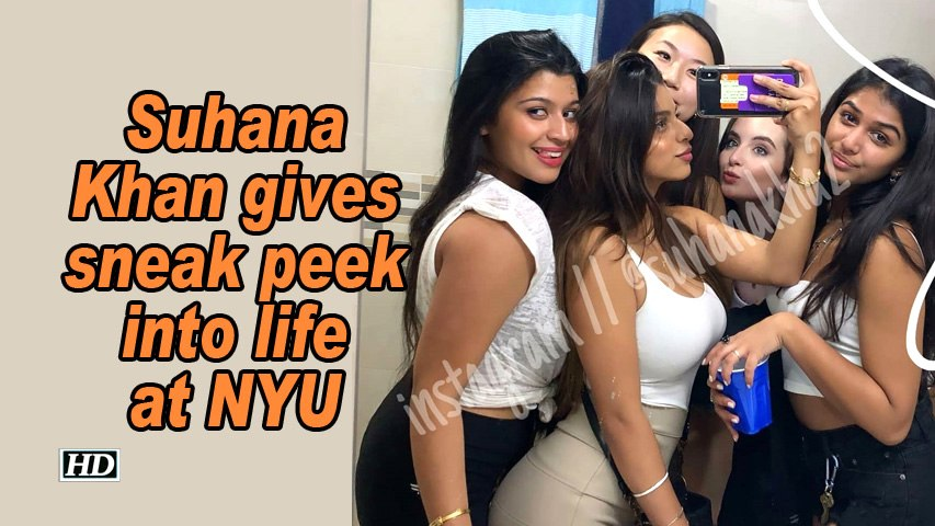 Suhana Khan gives sneak peek into life at NYU