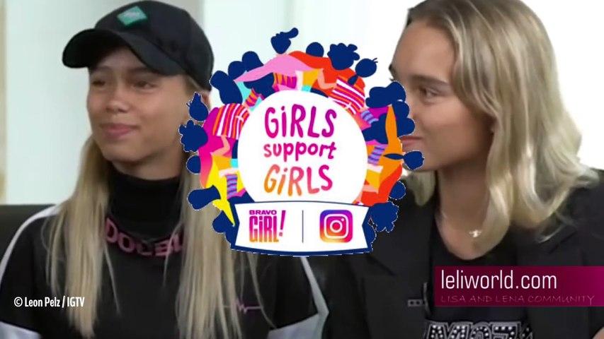 Lisa & Lena im Interview mit Leon Pelz  vom 08.05.2019