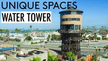 Living in a Water Tower Converted into 3 Story Luxury Home
