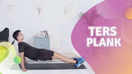 Ters plank -  Sağlığa bir Adım