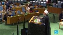 REPLAY - Discours du président iranien Hassan Rohani lors de la 74ème assemblée générale de l'ONU