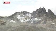 En Suisse, des funérailles en montagne pour un glacier disparu