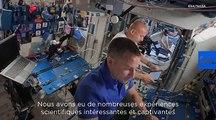 Luca Parmitano : comment l'espace bouleverse le corps des astronautes