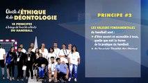 Charte d'éthique et de déontologie du handball