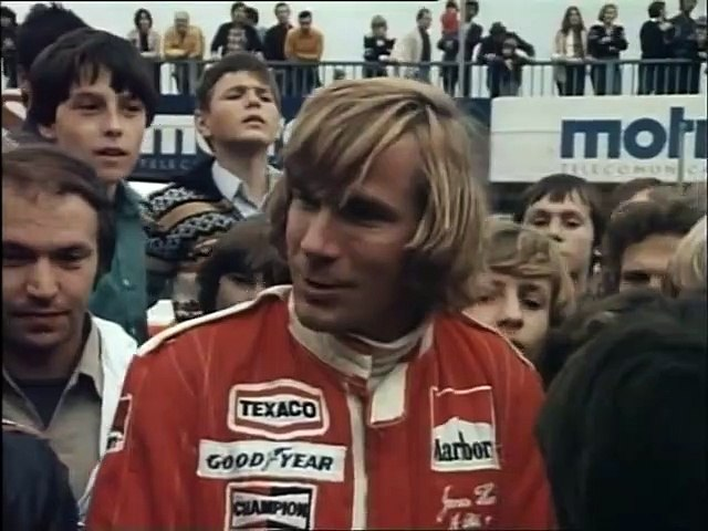 F1 1977 Zeltweg - Interview James Hunt & Niki Lauda @ ORF