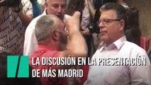 """""""¡Yo digo lo que me da la gana!"""", la discusión en la presentación de Íñigo Errejón"""