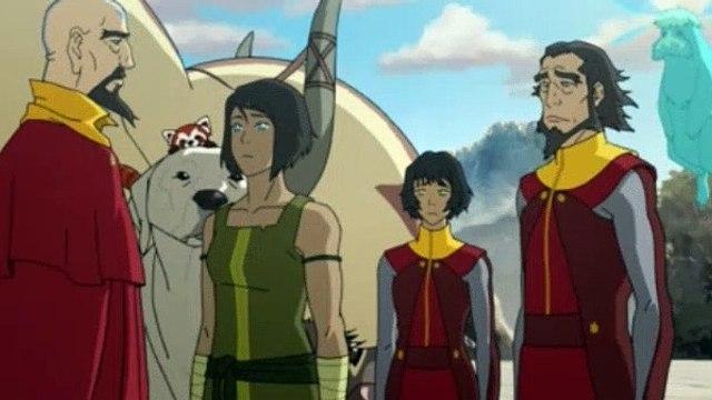 Avatar The Legend of Korra Season 4 Episode 7 Reunion