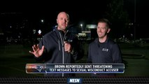 Matt Chatham Lays Out Why Antonio Brown Is Out In Foxboro
